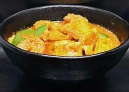 Kip met thaise rode kokoscurry
