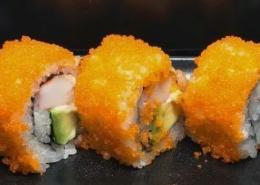 Surimi krab & Avocado Sushi