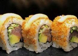 Pikante tonijn Sushi
