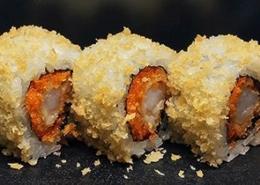 Gefrituurde Gamba Sushi