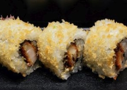 Gepaneerde Kip Sushi