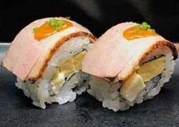 Gegrilde Eend Sushi