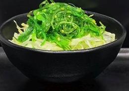 Japanse zeewiersalade