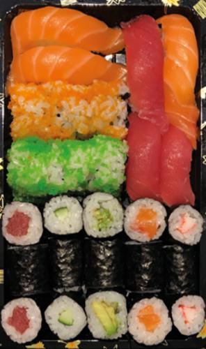 Sushi box 27 stuks