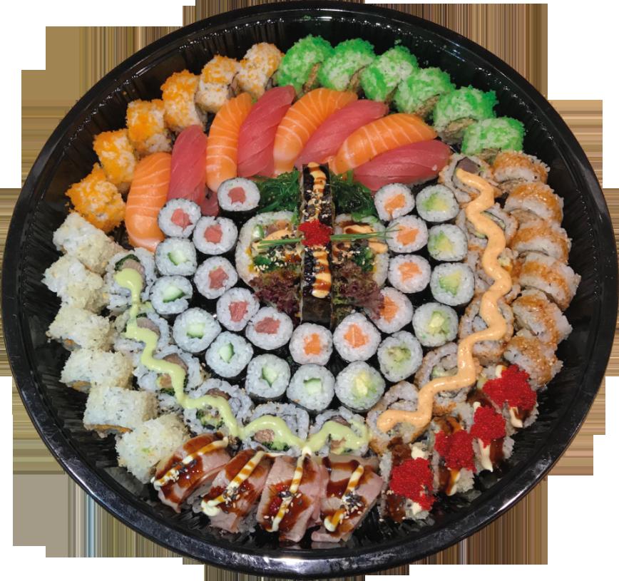 Sushi voor feesten en partijen in Sneek