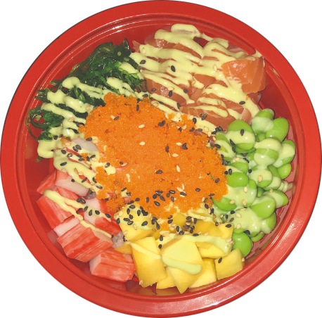 poké Bowl sushi Sneek